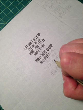 Inking quote