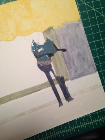 Acrylic character
